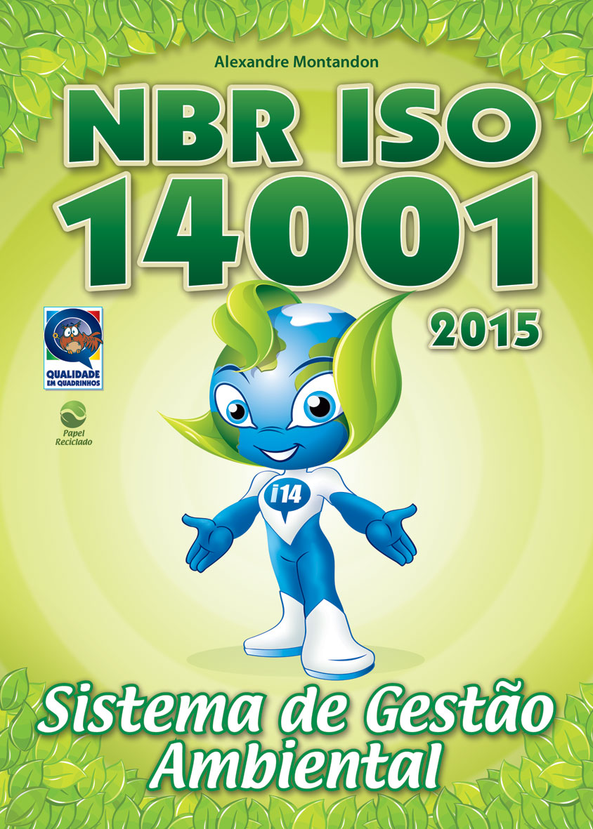 Capa do Manual da ISO 14001:2015