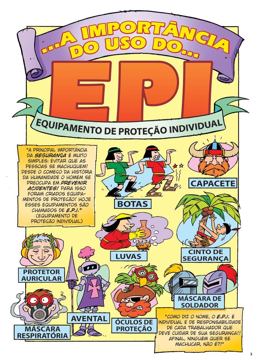 A IMPORTÂNCIA DO USO DO EPI - Qualidade em Quadrinhos 772b1cbf69