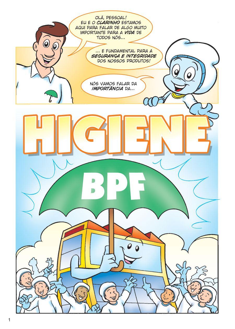 Excepcional HIGIENE - BPF - Qualidade em Quadrinhos TO47
