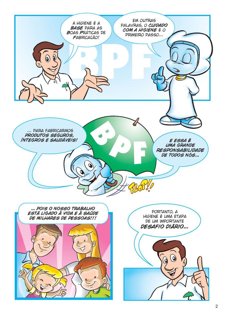 Fabuloso HIGIENE - BPF - Qualidade em Quadrinhos EG86